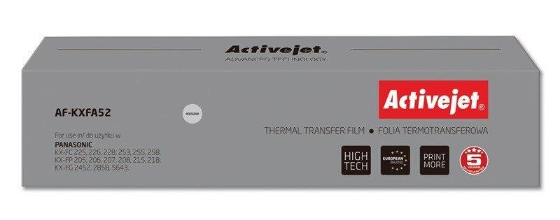 Folia kopiująca Activejet AF-KXFA52 (zamiennik Panasonic KX-FA52; Supreme; czarny)