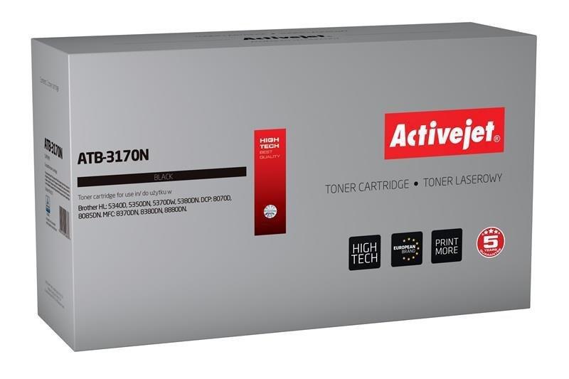 Toner Activejet ATB-3170N (zamiennik Brother TN-3060/TN-3170/TN-6600; Supreme; 7000 stron; czarny)