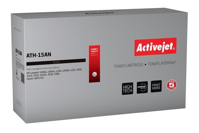 Toner Activejet ATH-15AN (zamiennik HP 15A C7115A, Canon EP-25; Premium; 2500 stron; czarny)