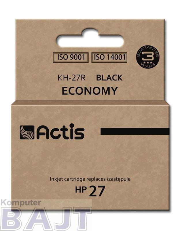 Tusz ACTIS KH-27R (zamiennik HP 27 C8727A; Standard; 20 ml; czarny)