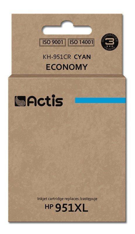 Tusz ACTIS KH-951CR (zamiennik HP 951XL CN046AE; Standard; 25 ml; niebieski)
