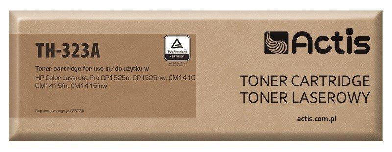 Toner ACTIS TH-323A (zamiennik HP 128A CE323A; Standard; 1300 stron; czerwony)