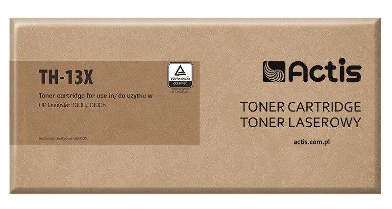 Toner ACTIS TH-13X (zamiennik HP 13X Q2613X; Standard; 4000 stron; czarny)