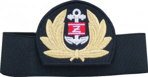 emblemat z otokiem do czapki Żegluga Śródlądowa (nr 3)