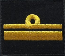 oznaka stopnia do kurtki lub swetra MW komandor podporucznik