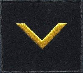 oznaka stopnia do kurtki lub swetra MW bosman