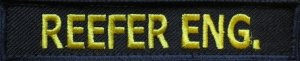 identyfikator stanowiska REEFER ENG.