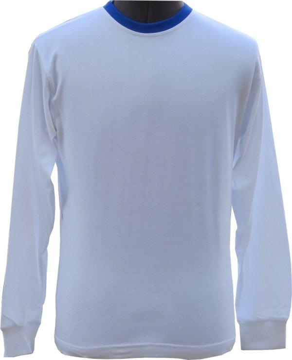 koszulka marynarska z długim rękawem