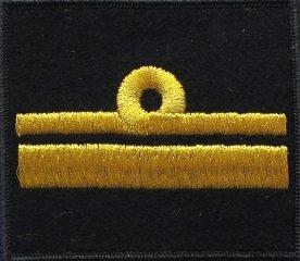 oznaka stopnia MW komandor podporucznik