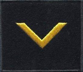 oznaka stopnia MW bosman