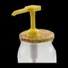Dozownik plastikowy do miodu z nakrętkami