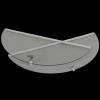 Wirówka (miodarka) 3 ramkowa z pokrywą i podstawą