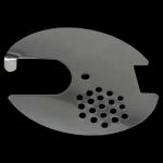 Zamknięcie wylotka okrągłego 4 funkcyjne srednica 80mm (nierdzewne)