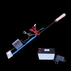 Parownik (sublimator) kwasu szczawiowego z podwójną grzałką i termometrem + akumulator żelowy z ładowarką