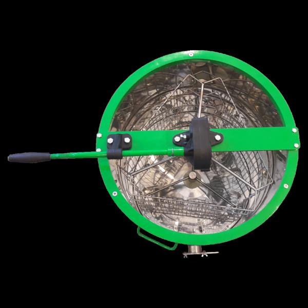 Miodarka 3-ramkowa z podstawą i pokrywą