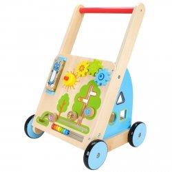 Tuptuś - drewniany wózek chodzik pchacz - przedsprzedaż