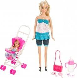 Lalka Anlily - Wózek dziecięcy - jasny blond