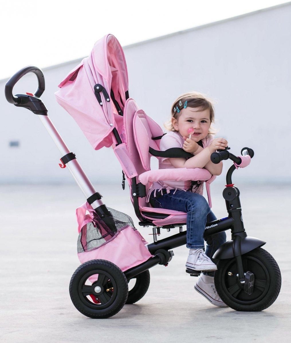 Rowerek trójkołowy Tobi Velar - różowy