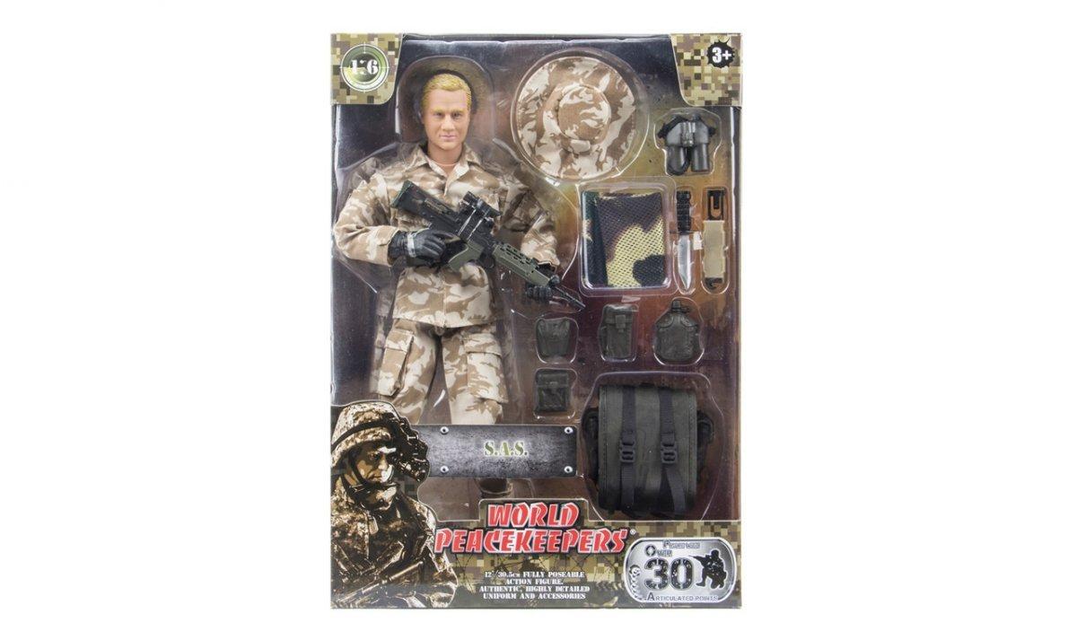 Figurka wojskowa 90200L - skala 1:6