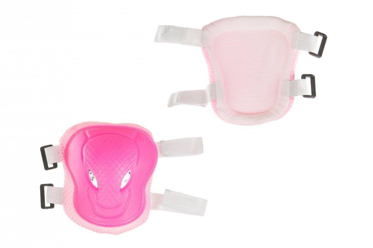 Ochraniacze dla dzieci - różowy - komplet na kolana łokcie ręce