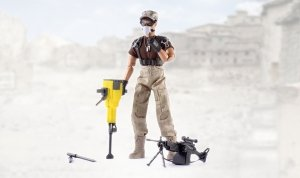 Figurka wojskowa 90200C - skala 1:6