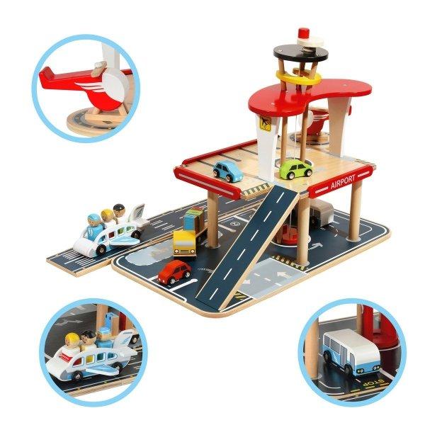 Odlot - lotnisko z parkingiem piętrowym - przedsprzedaż