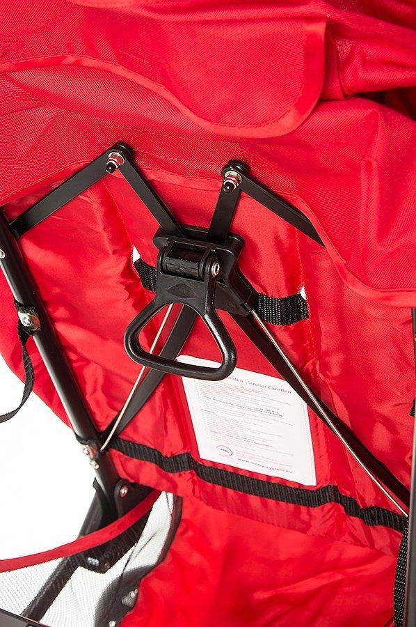 Wózek spacerowy Camden czerwony