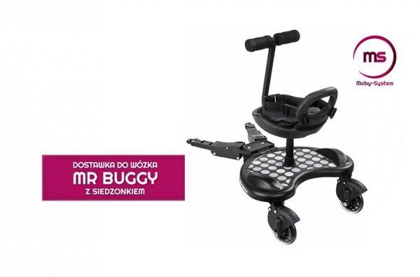 Dostawka do wózka z Siedzonkiem Mr. Buggy wzorek