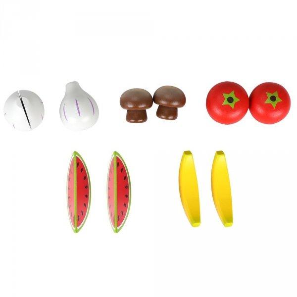 Mały stragan z warzywami i owocami - akcesoria w zestawie - przedsprzedaż