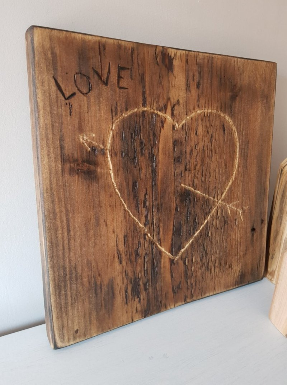 Deska serce LOVE