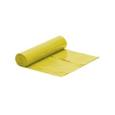 Worek żółty na śmieci LDPE 120 L/rolka 25 szt