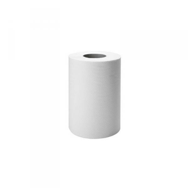 Ręcznik Makulatura biały MINI 60m 1W 12 szt