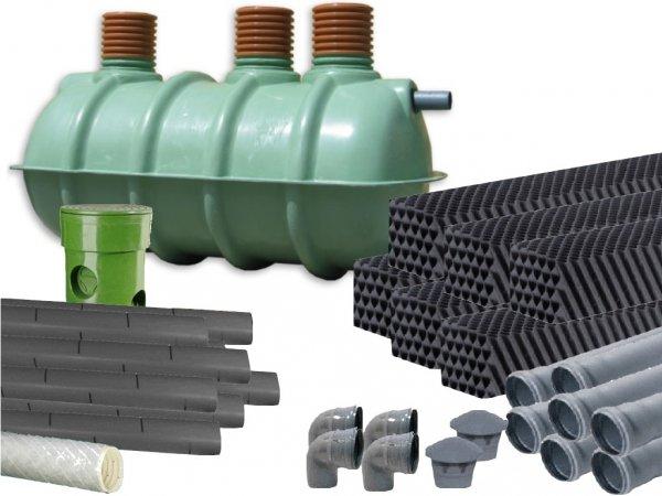 Przydomowa oczyszczalnia ścieków 3000L T 8P