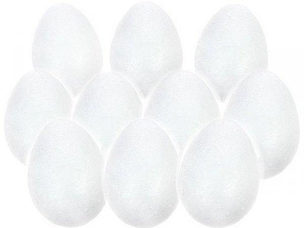 JAJKO STYROPIANOWE 7 cm Jajka Wielkanoc