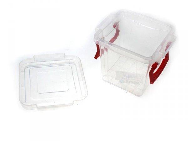 KW000316 POJEMNIK NA ŻYWNOŚĆ PUDEŁKO PLASTIK LUNCH BOX 0,3L