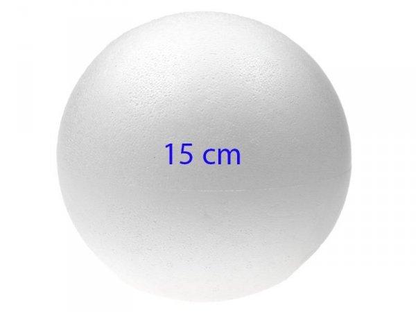KULA STYROPIANOWA Kule Bombka Bombki 15 cm 1 SZT
