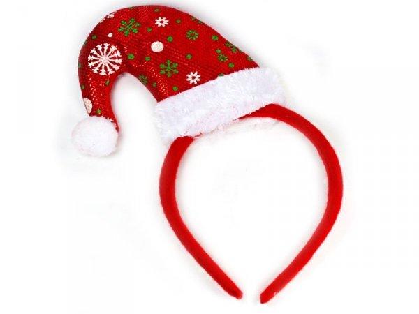5790 OPASKA CZAPKA MIKOŁAJA Świąteczna Boże Narodzenie