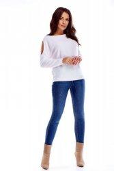 Sweter w kolorze białym M72172_1