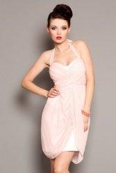 1102-7 Sukienka zawiązywana na szyi
