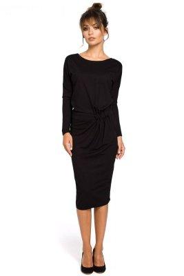 B052 sukienka czarna