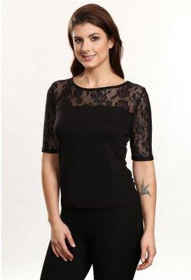 Donna czarny bluzka