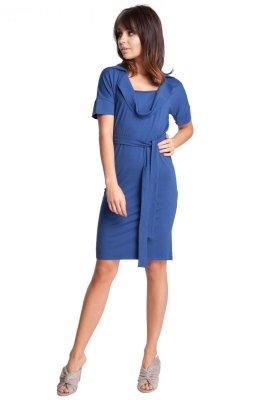 B010 sukienka niebieska