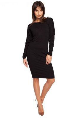 B020 sukienka czarna