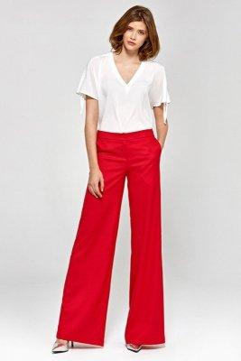Spodnie szwedy - czerwony - CSD02