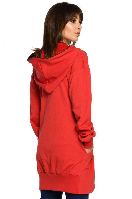 B054 bluza czerwona