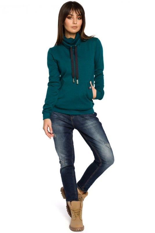 B055 bluza zielona