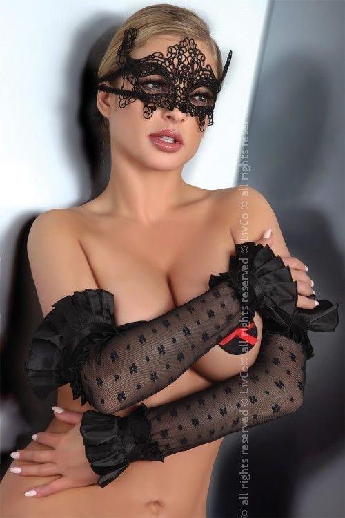 Gloves Black Model 11 LC 28009 rękawiczki