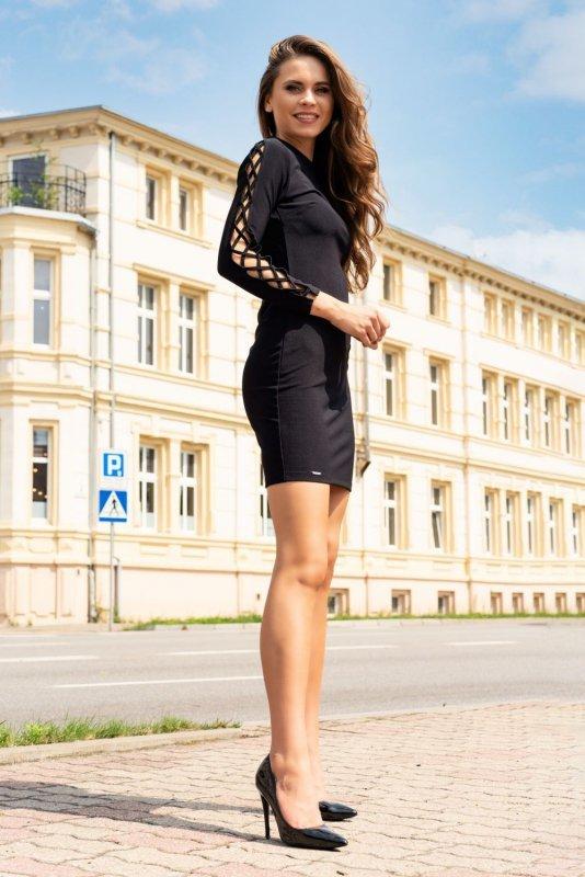 Merciana Black 85198 sukienka