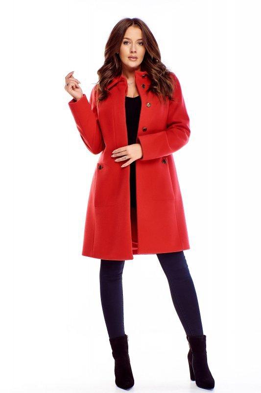 Elegancki płaszcz z wełny M72639_1