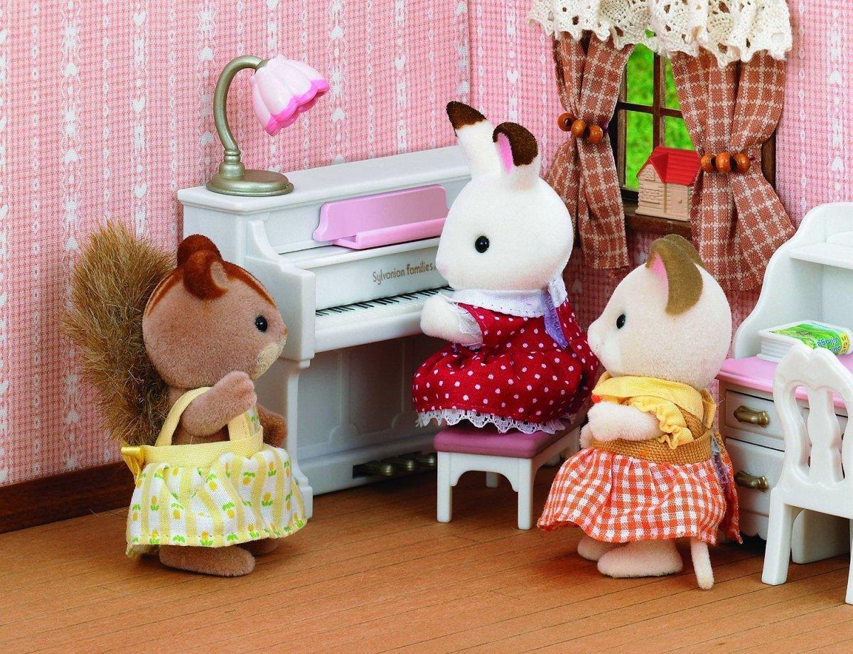 Sylvanian Families Pokój Dziewczynek Epoch 5032 Figurki